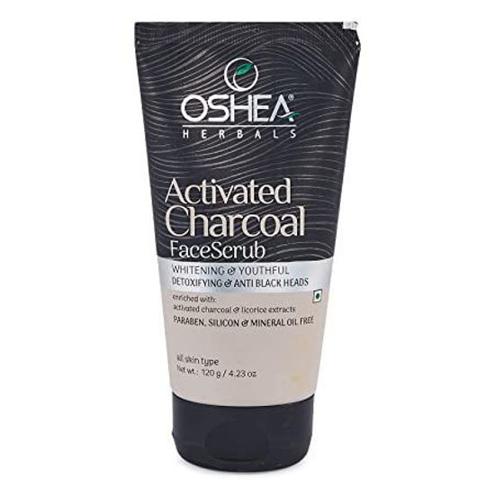 Oshea Activated Charcoal Face Scrub