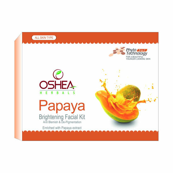 Oshea Papaya Facial Kit, Multicolor