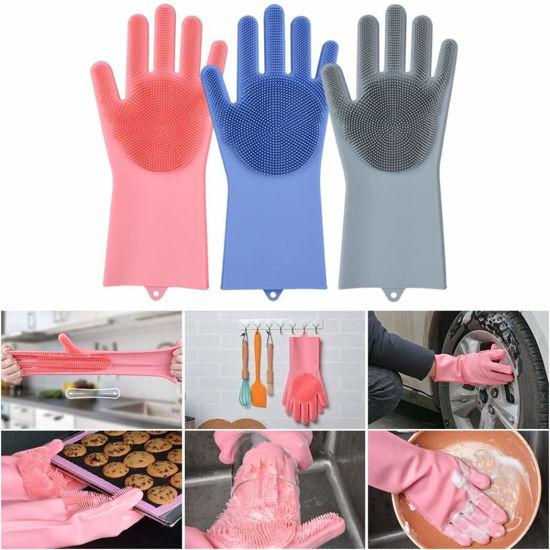 Silicone Scrubbing Gloves
