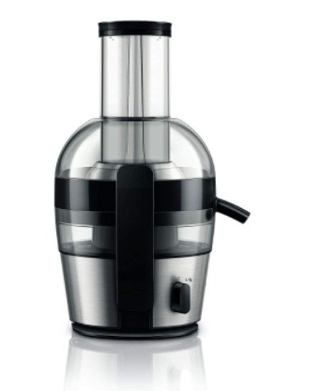 Picture of Philips Viva Collection HR1863/20 2-Litre Juicer (Black/Silver)